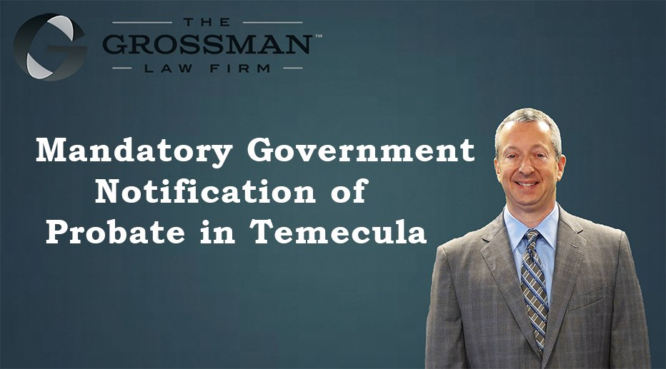 Mandatory Government Notification of Probate