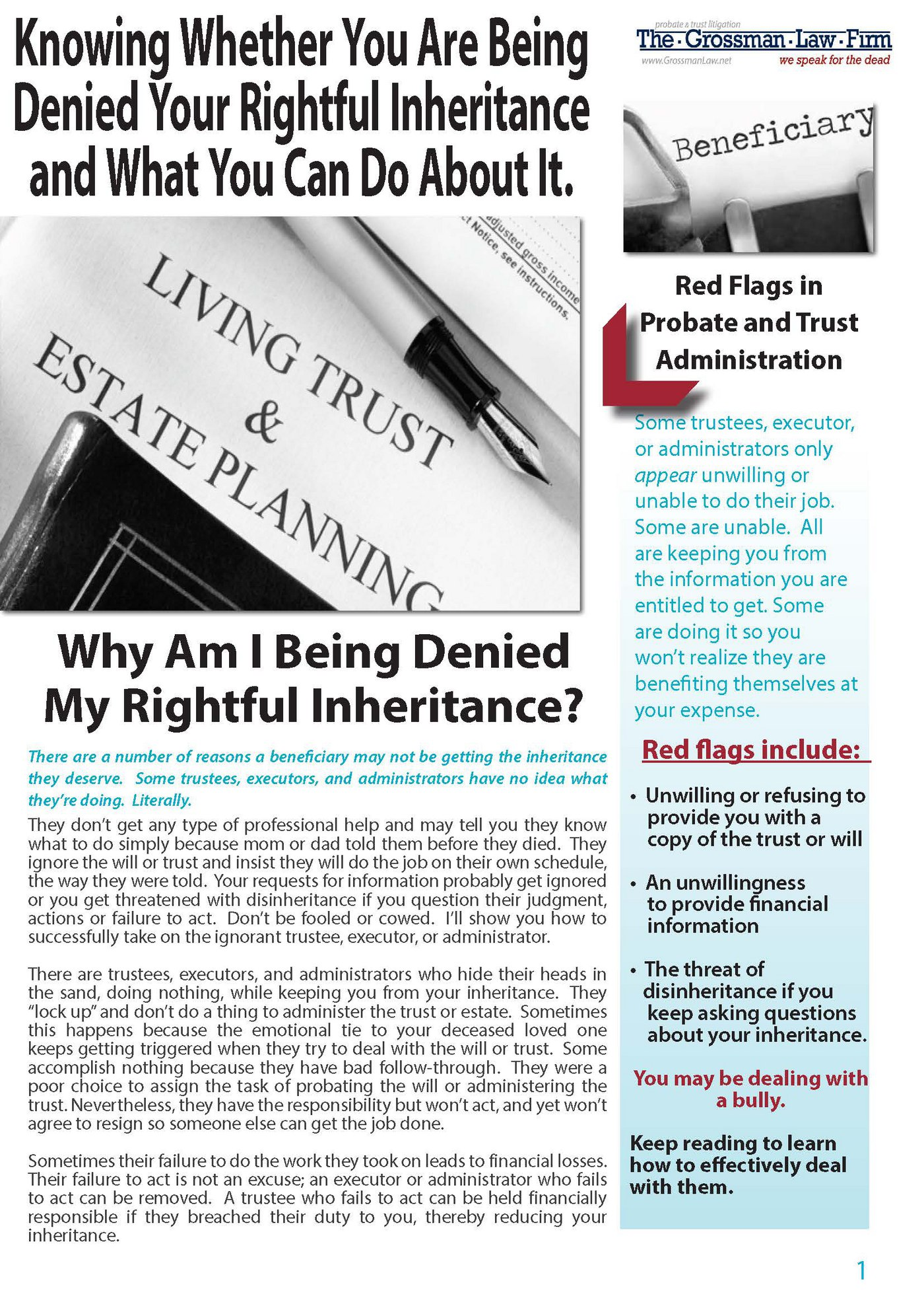 Why Am I Being Denied My Rightful Inheritance?