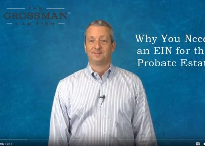 Why you need an EIN for the probate estate