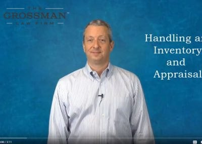 Handling an inventory and appraisal